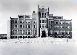 Mercy Hall in 1924