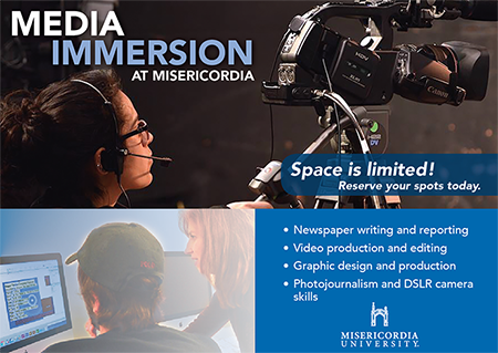 Media Immersion Day at Misericordia