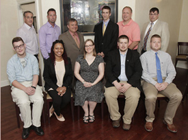 Dr. Black's Summer Research Fellows, 2015