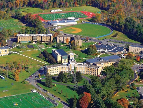 Misericordia campus aerial