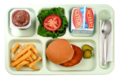 cafeteria tray