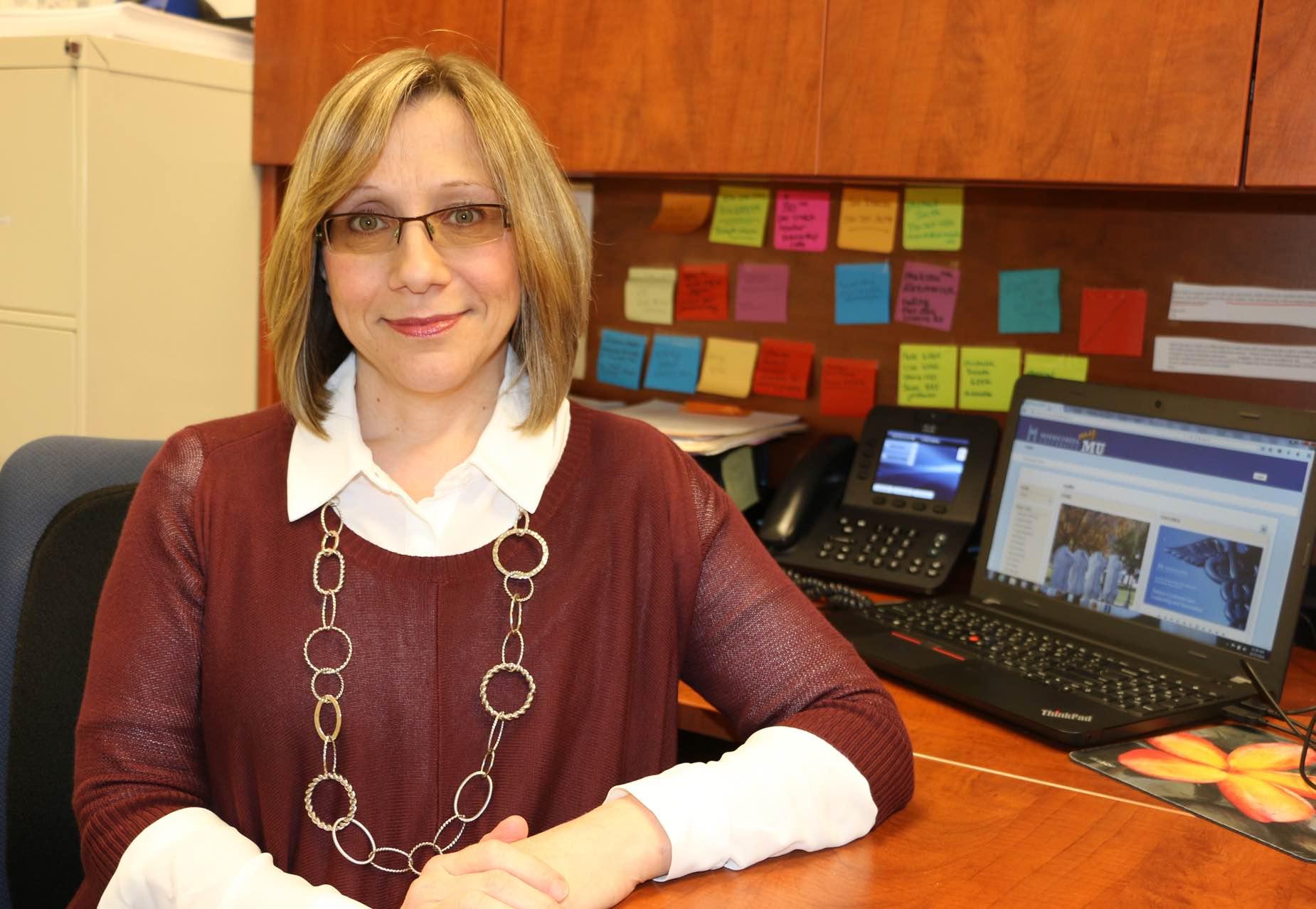 Karen Cefalo, Assistant Director of Part-Time & Graduate Admissions