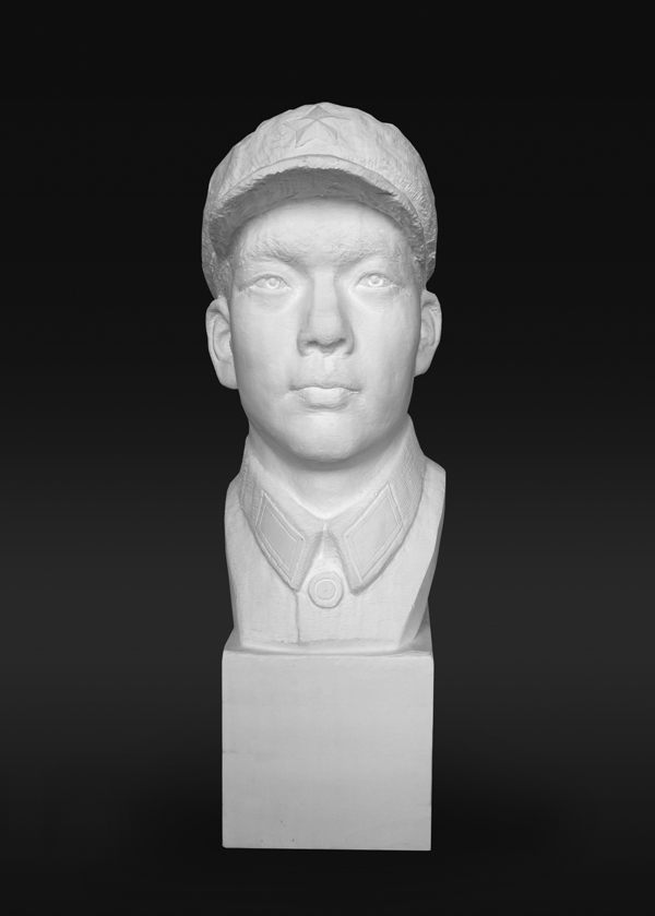 Li Hongbo Bust of Soldier