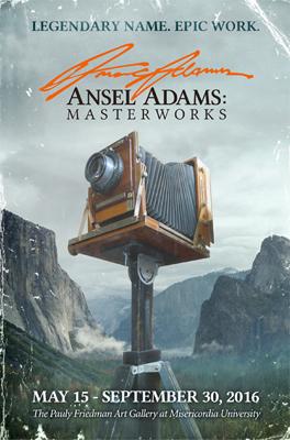 Ansel Adams Masterworks poster
