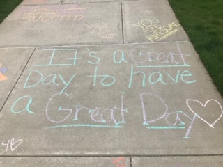 Active Minds Chalk Talk- It's a great day to have a great day