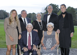 The Misericordia University Board of Trustees recently recognized businessperson and benefactor Sidney Friedman of Kingston, Pa., and dedicated alumna Mary Elizabeth
