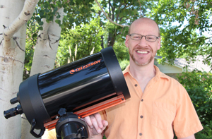 Phil Plait, Ph.D., aka, 'the Bad Astronomer,' will speak on campus on Sept. 12.